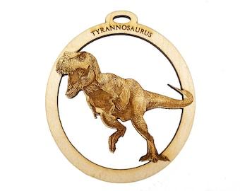 Tyrannosaurus Rex Ornament - Dinosaur Ornament - T Rex Ornament - T Rex Christmas Ornament - Personalized Free
