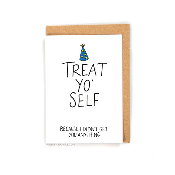 Funny birthday card no gift card greetings card friend like this item bookmarktalkfo Images