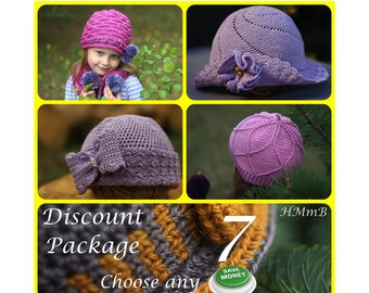 Discount Pattern Package - Choose Any 7 Patterns