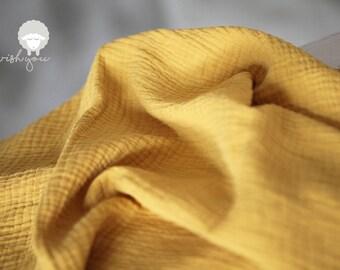 Muslin blanket Baby blanket Muslin swaddle blanket Baby coming home Baby shower gift Mustard yellow muslin blanket Newborn photo prop