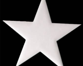Star cut out 6pcs per order,foam board, star,foam cut out,star stencil,wall decoration,star cut outs crafts,foamboard stars. foam stars