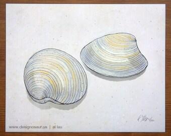 Clams (8 x 10)