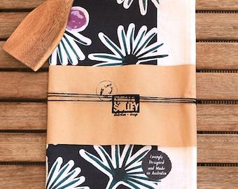 100% Linen Tea Towel Moroccan Dreaming