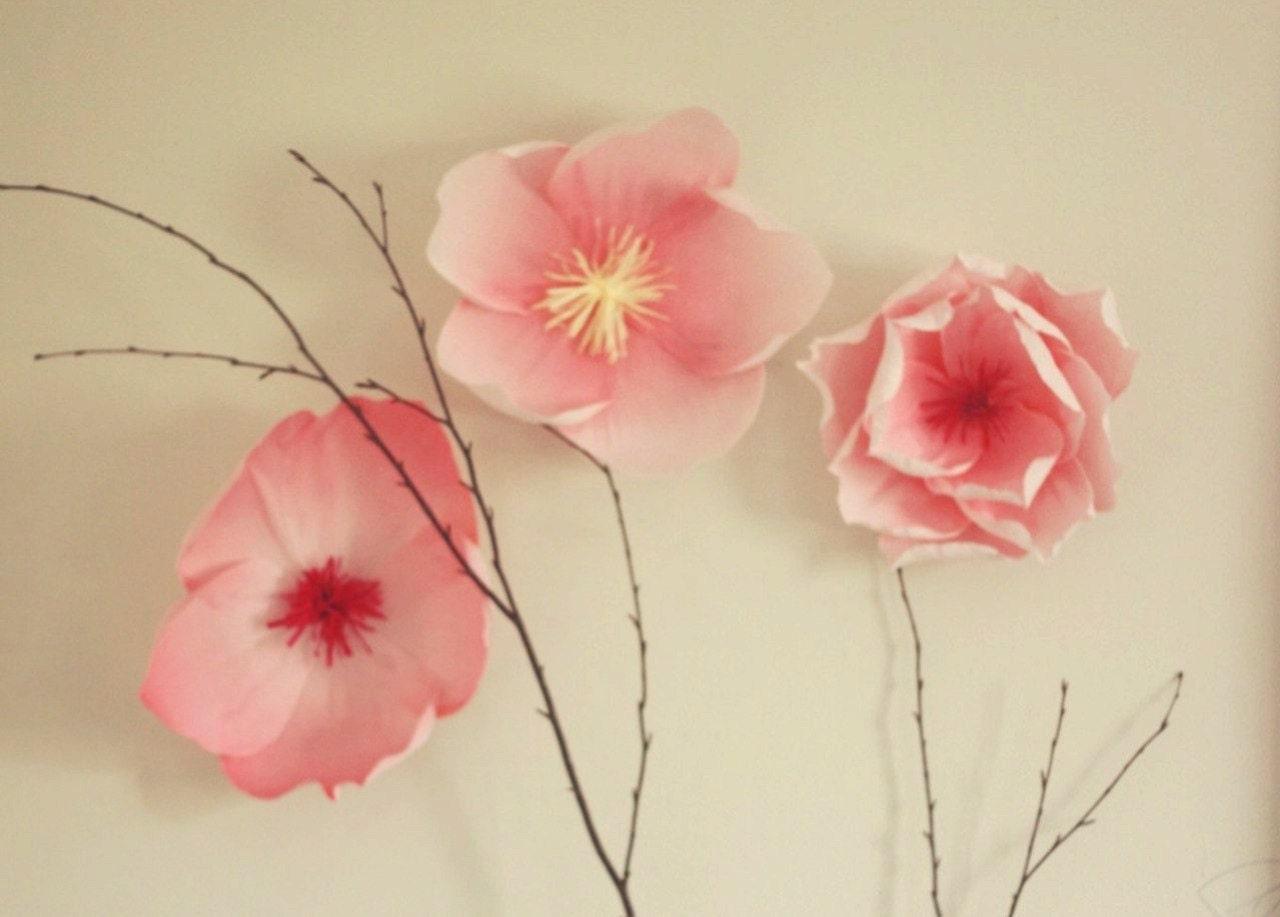 Cherry blossom flower display sakura wedding decor spring zoom mightylinksfo