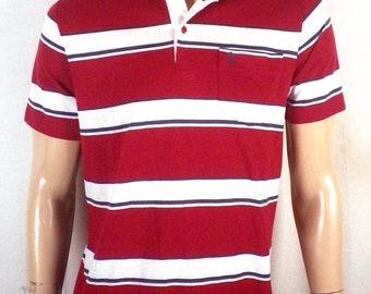 vtg 80s Penguin Club soft thin Combed Cotton Blend Pocket Polo Shirt golf SZ M