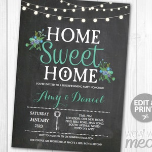 Housewarming invites Etsy