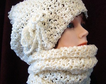 Instant download,  hat crochet pattern, (pdf file) , scarf pattern,  boy, girl, children, adult, men, women. num 610