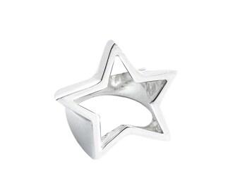 STAR handmade sterling silver ring