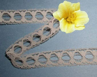 Beige Lace Trim 10/20 Yards Vintage Picot Beading 3/4 inch Lot R52A Added Items Ship No Charge