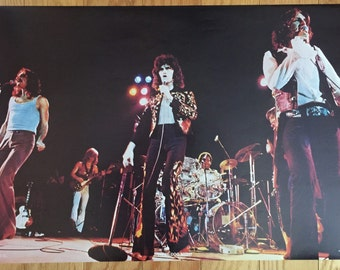 Vintage Three Dog Night Poster 1970's 23 x 35 Original