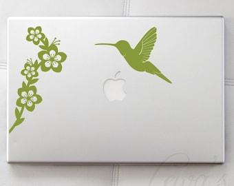 Hummingbird Laptop / Macbook / Notebook Decal