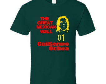 The Great Mexican Wall Guilermo Ochoa Mexican World Cup Keeper T Shirt