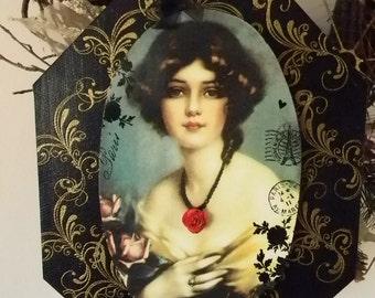 My Rose Marie Decorative Plaque