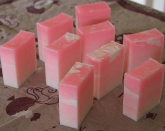 Pink Ombre Goats Milk Soaps
