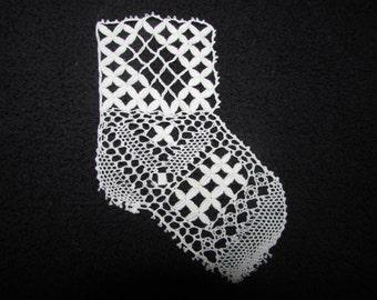 bobbin lace baby shoe pattern