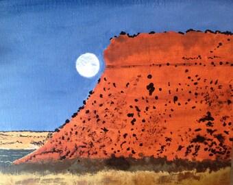 Arizona Mountain Painting