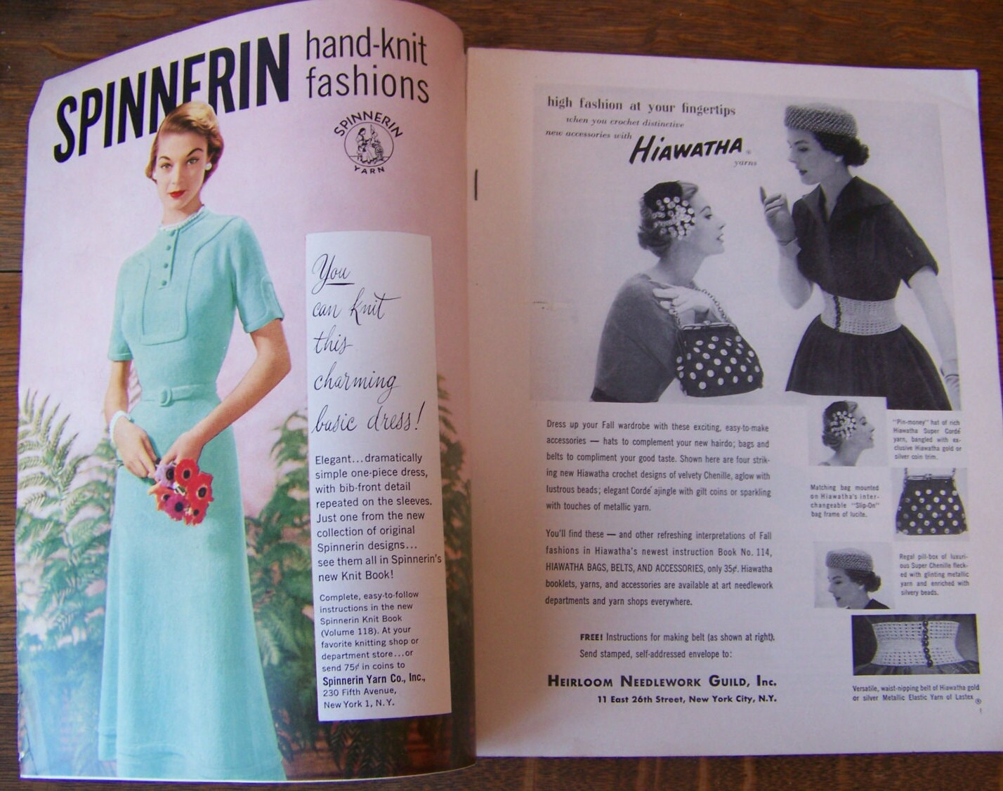 Vintage Vogue Knitting Book 1952 Fall and Winter.Vintage 1950\'s ...