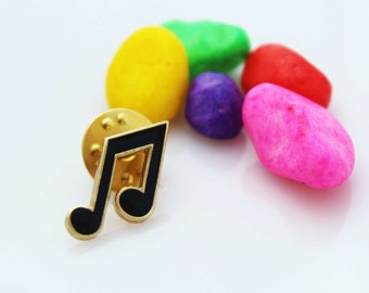 Eighth Note /Quaver Pin Badge