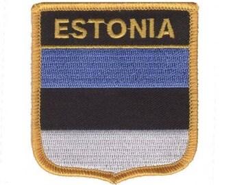 Estonia Patch (Iron on)