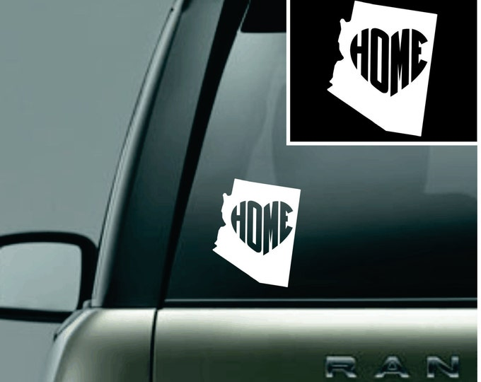 Arizona Love Your State Car Decal