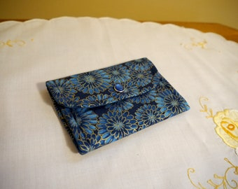 Small Wallet, Business Card Holder or Wallet, Gift Card or Credit Card Wallet