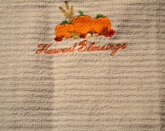 Harvest Blessings Towel