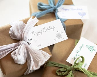 Holiday Gift Tags | Letterpress | Paper Goods