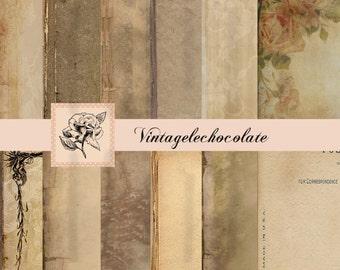 Digital Texture Paper, Digital Old Scrapbook Papers, Vintage Overlays and Backgrounds, Vintage Backgrounds.. No. p61