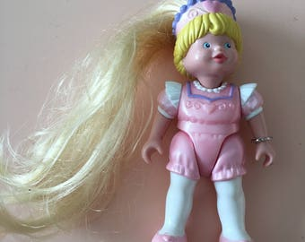 1995 Fisher Price #4600 Once Upon A Dream Palace Princess figure - Dream Doll House - Made in U.S.A.