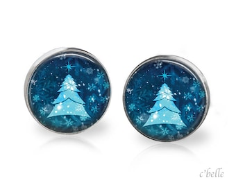 Christmas Earrings Winter-32