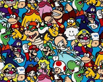 Mario Suck Pads & Bib SET - Nintendo  - for lillebaby, Tula, Beco, Boba, Ergo and more