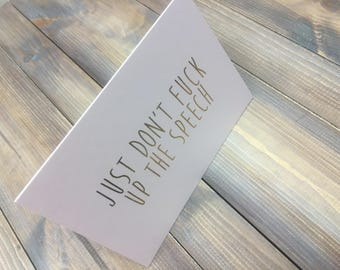Will you be my Bestman, Gold Foil, Wedding Stationery