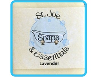 Lavender Soap, Handmade Soap, All Natural Soap, Organic Saponified Olive Oil, Coconut Oil, Shea Butter, Fragrance Oil