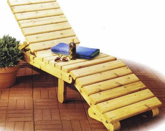 Sun Lounge Woodworking Plans