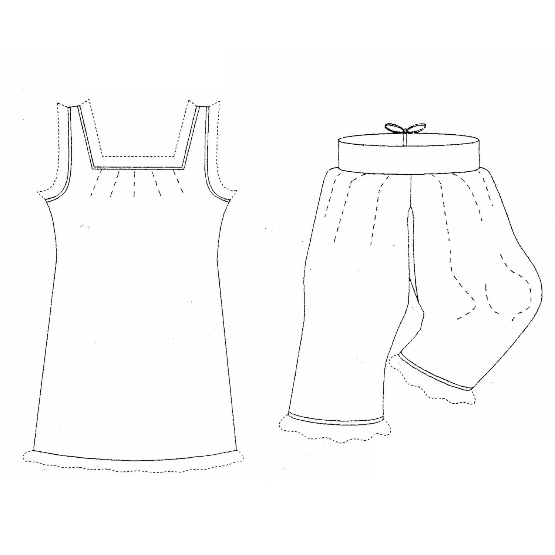 MM18807 1880er Jahre-1890er Jahre viktorianische Unterwäsche