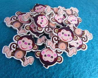 Cheeky Monkey Buttons
