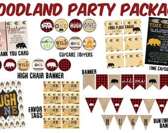 Woodland Party Package