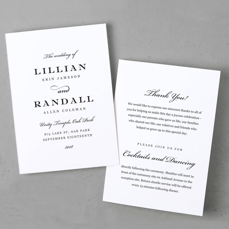 Großartig Einzigartige Hochzeitsprogramme Vorlagen Ideen - Beispiel ...