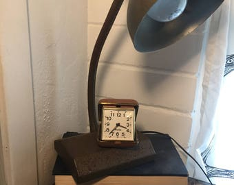 Westclox vintage alarm clock, Westclox travel clock