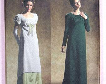 Empire kleid jane austen schnittmuster