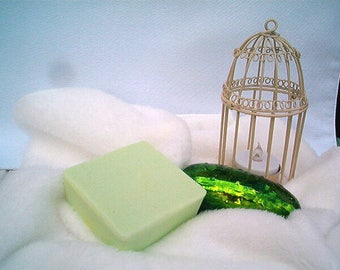 Dill Pickle Soap, Pickle Bath Soap, Good Luck Tradition, Baby Shower Favors, Party Favor, Novelty,  Bar Soap, Goat's Milk Soap