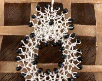 Knit earrings