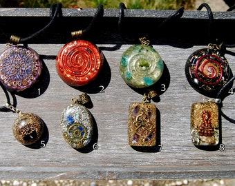 Orgonite® Pendants Orgone Pendant Necklace  Gift Gifting Sale Bargain