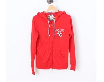 Vintage Hoodie/90's Hoodie/Vintage Jumper/Vintage Sweatshirt/Vintage Hoody/90s Hoody/Hoodie/Hoody/Old School/Japan/TOMMY GIRL/G293 Women S-M