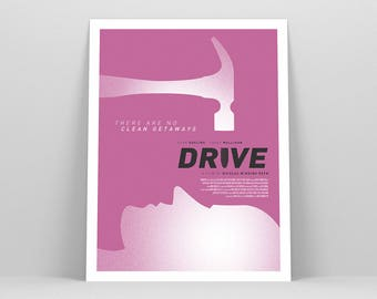 Drive Poster ~ Movie Poster, Film Gift, Art Print by Christopher Conner