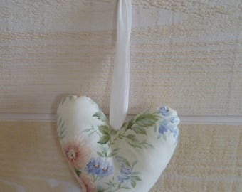 Collection romantic floral heart