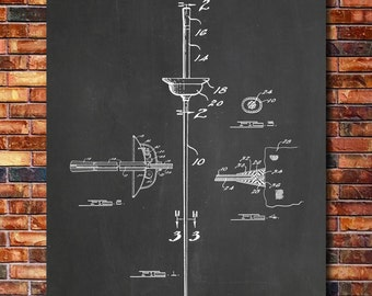 Fencing Foil Patent Print Art 1942