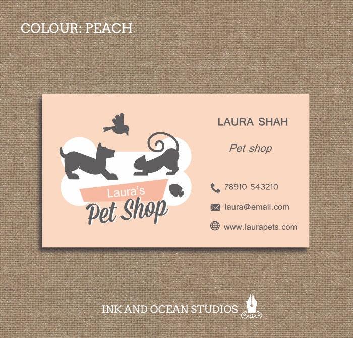 Printable stylish elegant retro pet shop animal print zoom colourmoves
