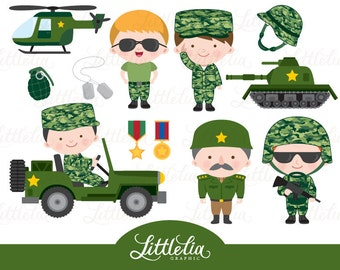 Army clipart - Military army clipart - 15104