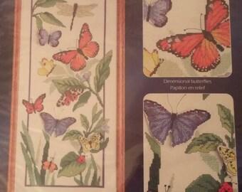 Nature's Window Counted Cross Stitch Kit